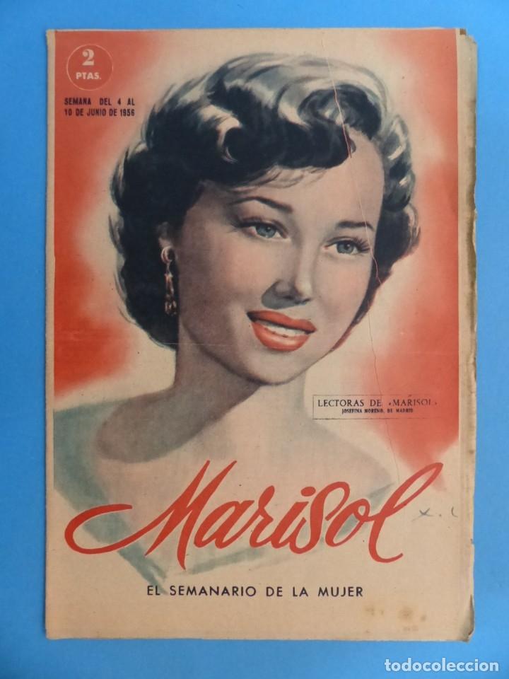 Coleccionismo de Revistas y Periódicos: MARISOL - 21 REVISTAS DIFERENTES 4 DE ELLAS NUMEROS EXTRAORDINARIOS - AÑOS 1955-1956 - Foto 11 - 180388165