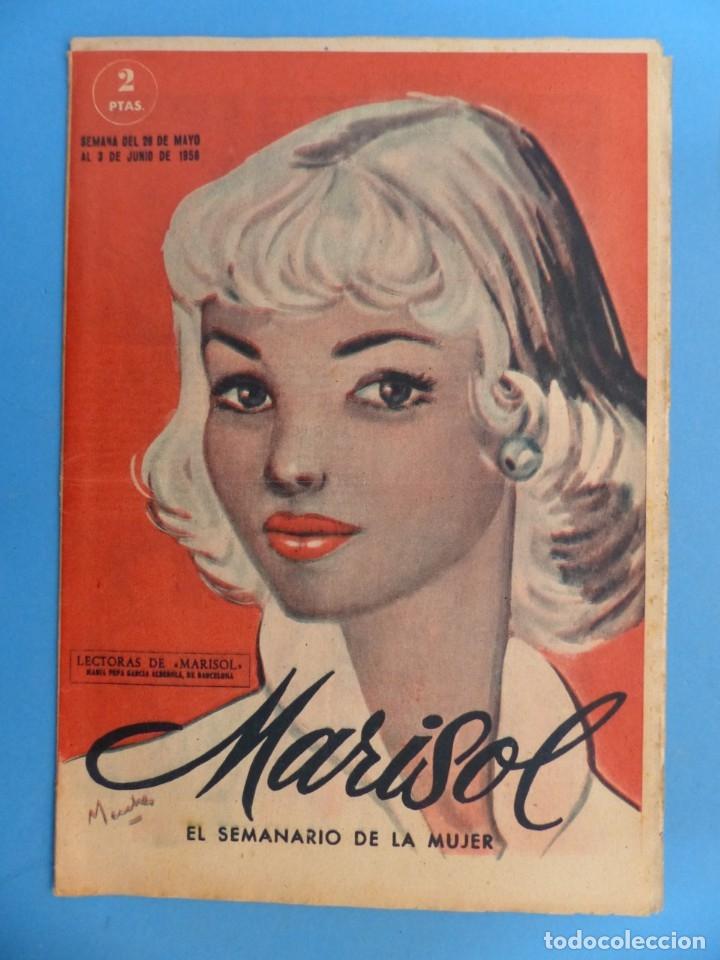 Coleccionismo de Revistas y Periódicos: MARISOL - 21 REVISTAS DIFERENTES 4 DE ELLAS NUMEROS EXTRAORDINARIOS - AÑOS 1955-1956 - Foto 12 - 180388165