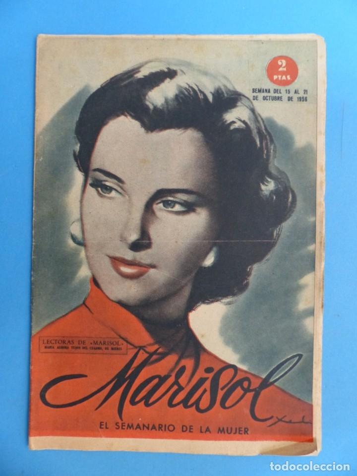Coleccionismo de Revistas y Periódicos: MARISOL - 21 REVISTAS DIFERENTES 4 DE ELLAS NUMEROS EXTRAORDINARIOS - AÑOS 1955-1956 - Foto 13 - 180388165