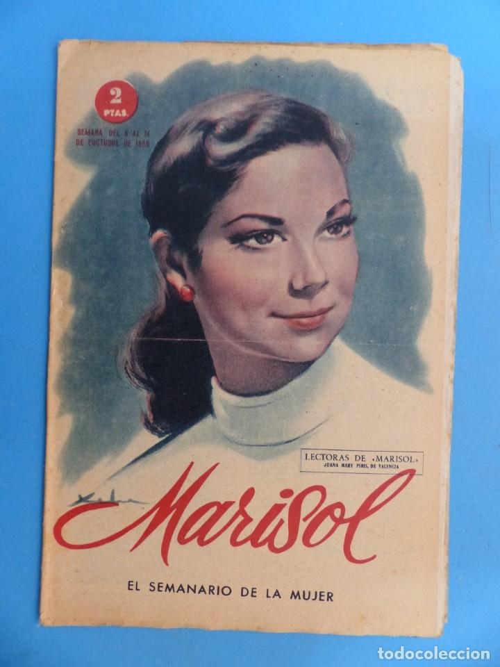 Coleccionismo de Revistas y Periódicos: MARISOL - 21 REVISTAS DIFERENTES 4 DE ELLAS NUMEROS EXTRAORDINARIOS - AÑOS 1955-1956 - Foto 14 - 180388165
