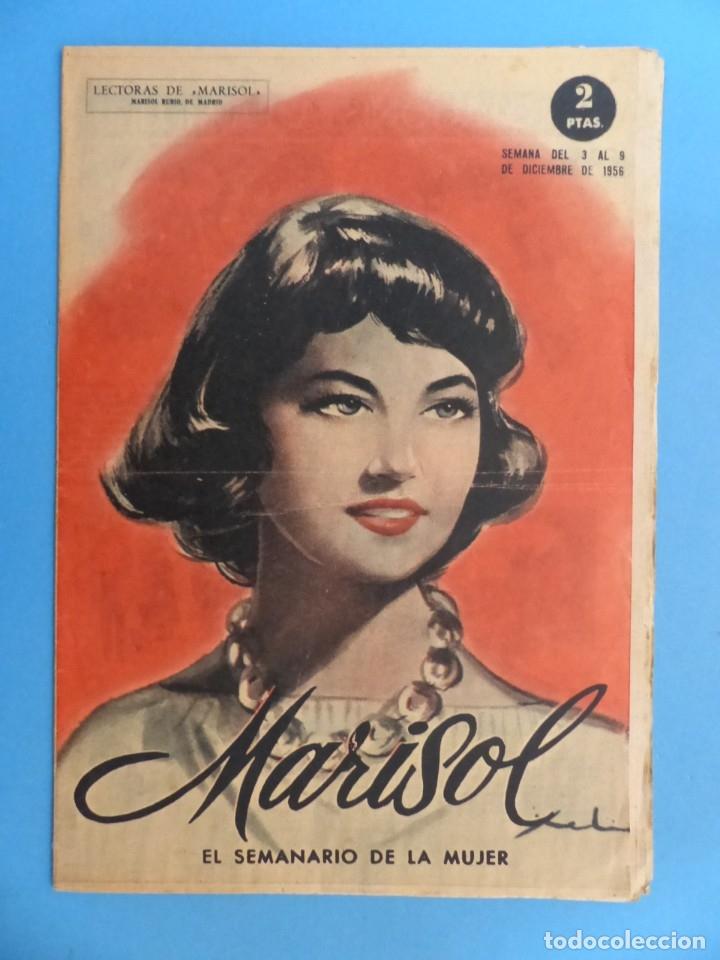 Coleccionismo de Revistas y Periódicos: MARISOL - 21 REVISTAS DIFERENTES 4 DE ELLAS NUMEROS EXTRAORDINARIOS - AÑOS 1955-1956 - Foto 15 - 180388165
