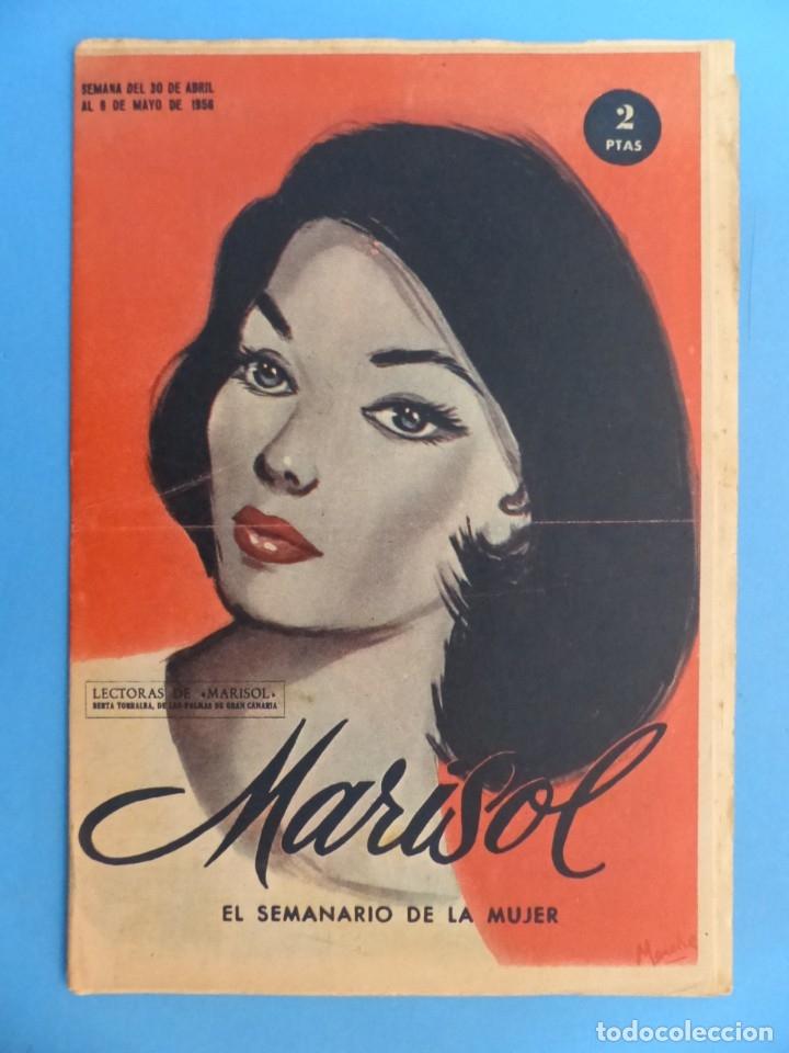 Coleccionismo de Revistas y Periódicos: MARISOL - 21 REVISTAS DIFERENTES 4 DE ELLAS NUMEROS EXTRAORDINARIOS - AÑOS 1955-1956 - Foto 16 - 180388165