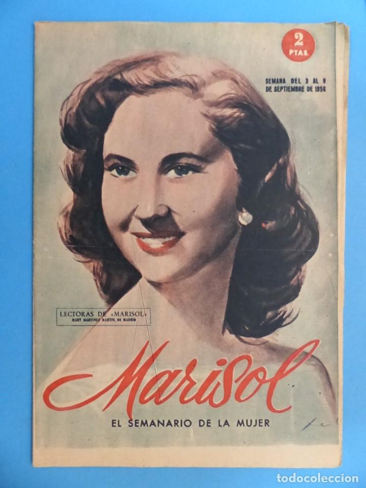 Coleccionismo de Revistas y Periódicos: MARISOL - 21 REVISTAS DIFERENTES 4 DE ELLAS NUMEROS EXTRAORDINARIOS - AÑOS 1955-1956 - Foto 17 - 180388165