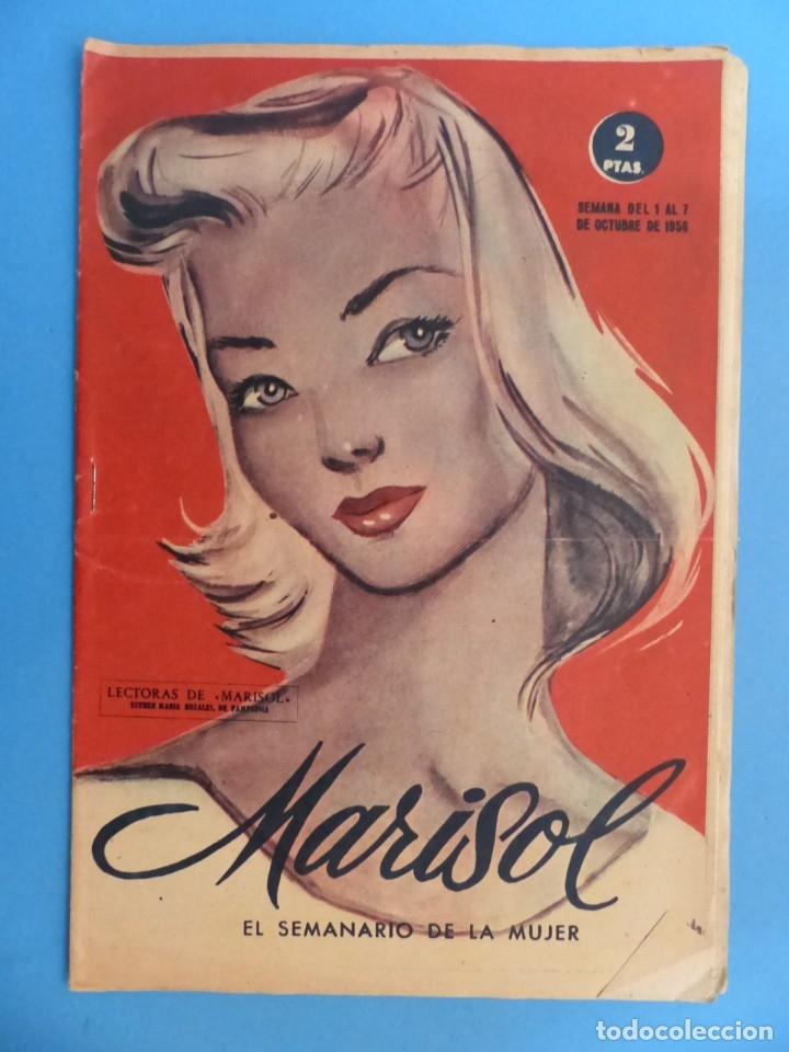Coleccionismo de Revistas y Periódicos: MARISOL - 21 REVISTAS DIFERENTES 4 DE ELLAS NUMEROS EXTRAORDINARIOS - AÑOS 1955-1956 - Foto 18 - 180388165