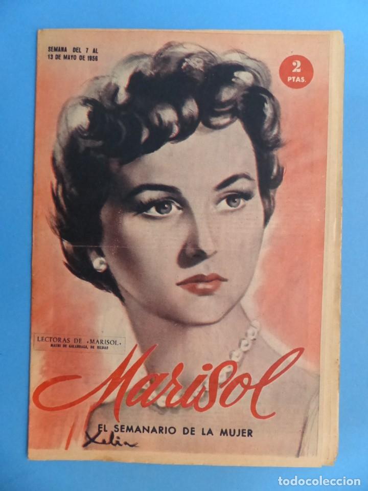 Coleccionismo de Revistas y Periódicos: MARISOL - 21 REVISTAS DIFERENTES 4 DE ELLAS NUMEROS EXTRAORDINARIOS - AÑOS 1955-1956 - Foto 19 - 180388165