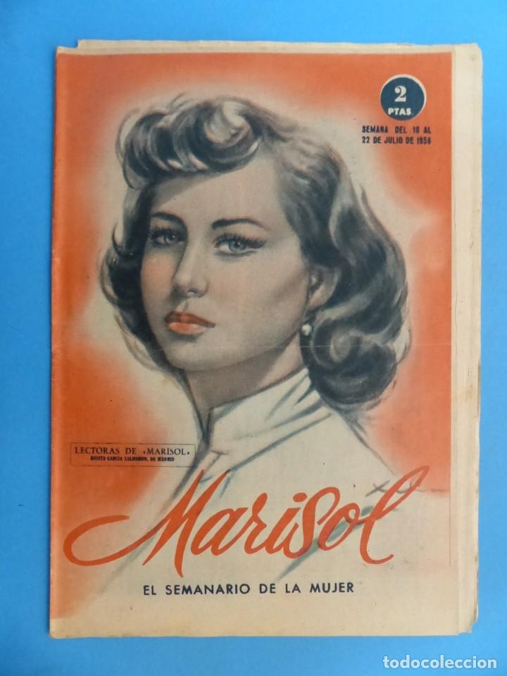 Coleccionismo de Revistas y Periódicos: MARISOL - 21 REVISTAS DIFERENTES 4 DE ELLAS NUMEROS EXTRAORDINARIOS - AÑOS 1955-1956 - Foto 20 - 180388165