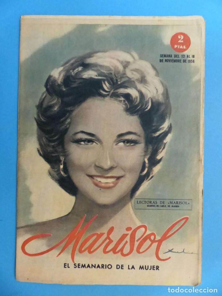 Coleccionismo de Revistas y Periódicos: MARISOL - 21 REVISTAS DIFERENTES 4 DE ELLAS NUMEROS EXTRAORDINARIOS - AÑOS 1955-1956 - Foto 21 - 180388165
