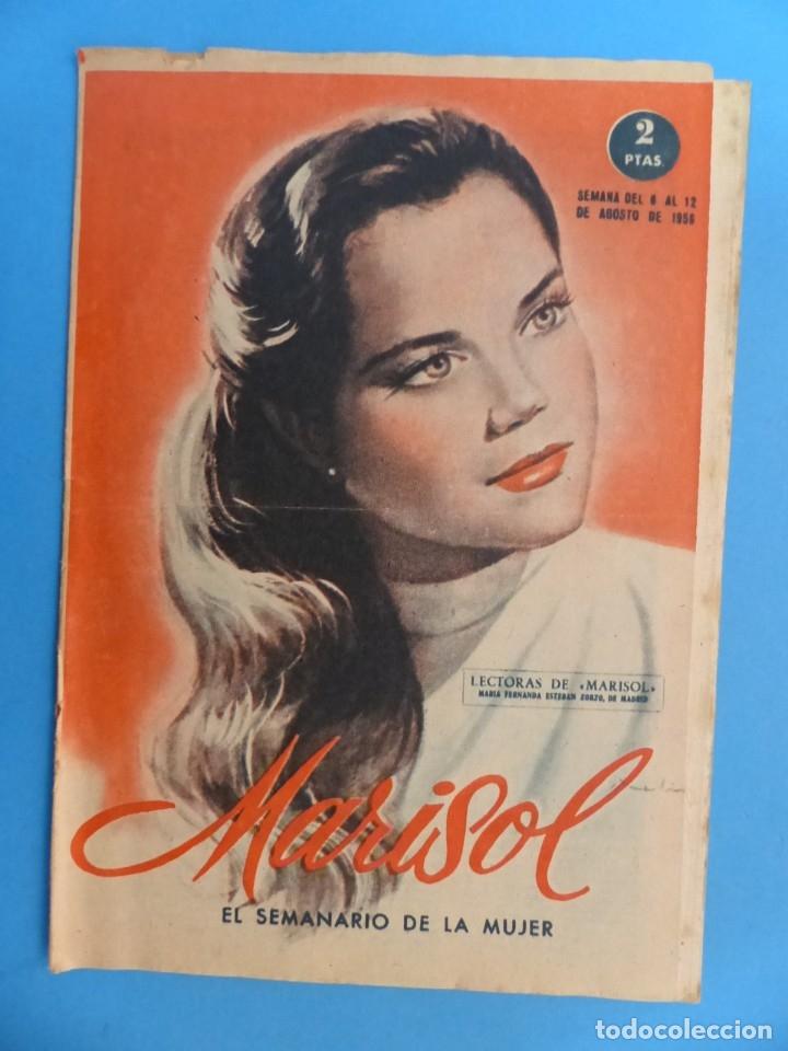Coleccionismo de Revistas y Periódicos: MARISOL - 21 REVISTAS DIFERENTES 4 DE ELLAS NUMEROS EXTRAORDINARIOS - AÑOS 1955-1956 - Foto 22 - 180388165