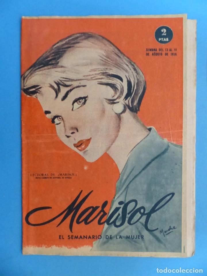 Coleccionismo de Revistas y Periódicos: MARISOL - 21 REVISTAS DIFERENTES 4 DE ELLAS NUMEROS EXTRAORDINARIOS - AÑOS 1955-1956 - Foto 23 - 180388165