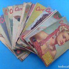 Coleccionismo de Revistas y Periódicos: CARETA - 24 REVISTAS DIFERENTES - AÑOS 1950 - VER FOTOS ADICIONALES. Lote 180388666
