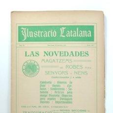 Coleccionismo de Revistas y Periódicos: REVISTA SETMANAL ILUSTRACIÓ CATALANA Nº 437 - 22 DE OCTUBRE DE 1911. Lote 180390345