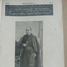Coleccionismo de Revistas y Periódicos: ILUSTRACIÓ CATALANA Nº90 1905 FOTOS BLANES CARRER SANTA ANNA Y ESCALA NOVA. Lote 180397218