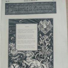 Coleccionismo de Revistas y Periódicos: ILUSTRACIÓ CATALANA Nº92 1905 LO CASTELL DE BELVER PALMA DE MALLORCA. Lote 180397797