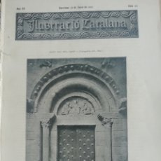 Coleccionismo de Revistas y Periódicos: ILUSTRACIÓ CATALANA Nº85 1905 MONASTERIO SANT PAU DEL CAMP(BARCELONA). Lote 180398173