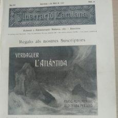 Coleccionismo de Revistas y Periódicos: ILUSTRACIÓ CATALANA Nº96 1905 FOTOS TOSSA DE MAR . Lote 180398556