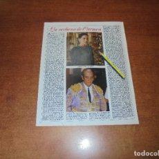 Coleccionismo de Revistas y Periódicos: CLIPPING 1986:ISABEL PREYSLER. ANTOÑETE.. Lote 180401553