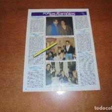 Coleccionismo de Revistas y Periódicos: CLIPPING 1986: MONTSERRAT CABALLÉ. JORDI HURTADAO. CUGAT. SUBIRACHS. VICENTE PARRA. VICTORIA VERA.. Lote 180401942