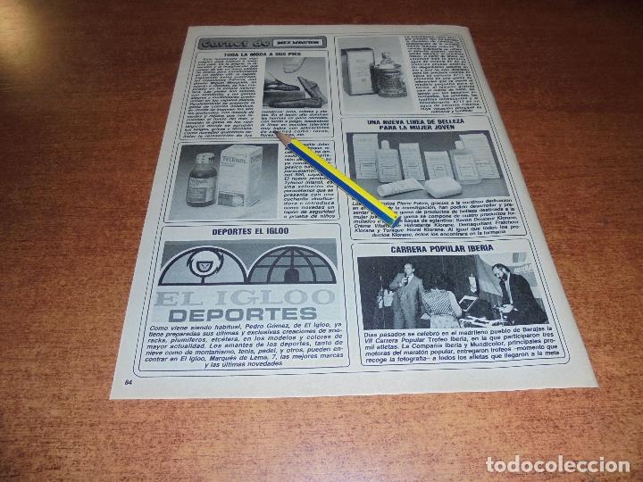 Coleccionismo de Revistas y Periódicos: CLIPPING 1986: NORMA DUVAL. TROFEOS VII CARRERA POPULAR IBERIA. - Foto 2 - 180402368