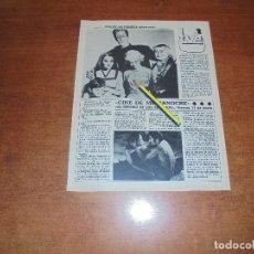 Coleccionismo de Revistas y Periódicos: CLIPPING 1986: VUELVE LA FAMILIA MONSTERS.. Lote 180402935