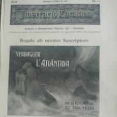 Coleccionismo de Revistas y Periódicos: ILUSTRACIÓ CATALANA Nº114 1905 CASTELLTERSOL . Lote 180403025