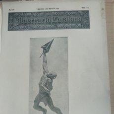 Coleccionismo de Revistas y Periódicos: ILUSTRACIÓ CATALANA Nº115 1905 TRAÇAT OLVAN-GUARDIOLA :,ESTACIO BAELLS,FIGOLS,. Lote 180406932