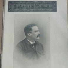 Coleccionismo de Revistas y Periódicos: ILUSTRACIÓ CATALANA Nº132 1905 JOYERIA CABOT -FERROCARRIL MOLLERUSA A BALAGUER. Lote 180407553