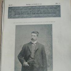 Coleccionismo de Revistas y Periódicos: ILUSTRACIÓ CATALANA Nº120 1905 FOTOS SANT FELIU GUIXOLS -FOTO PASSEIG BORN PALMA MALLORCA. Lote 180408507
