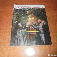 Coleccionismo de Revistas y Periódicos: CLIPPING 1986: BODA CHARLES Y DIANA EN LA SERIE V. FAMOSOS OPINAN SOBRE EL IVA. Lote 180409288