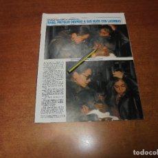 Coleccionismo de Revistas y Periódicos: CLIPPING 1986: ISABEL PREYSLER. TARIM'S DE LLONGUERAS MAQUILLADOR. ESTEFANIA EN DISCOTECA NOROC. Lote 180409672