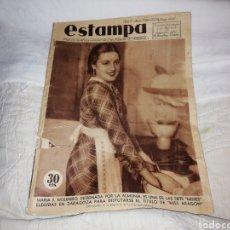 Coleccionismo de Revistas y Periódicos: REVISTA ESTAMPA 376 AÑO 1935.. Lote 180421058