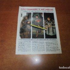 Coleccionismo de Revistas y Periódicos: RETAL 1986: PIELES SYLVIE VARTAN. CAROLINA. JACQUELINE. LINDA EVANS. JOAN COLLINS. MATHIEU - ABASCAL. Lote 180429890