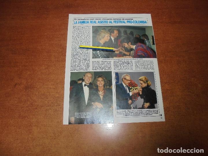 CLIPPING 1986: CAMILO SESTO. PALOMA SAN BASILIO. RAPHAEL. SARA MONTIEL. MASSIEL. ENRIQUE TIERNO. (Coleccionismo - Revistas y Periódicos Modernos (a partir de 1.940) - Otros)