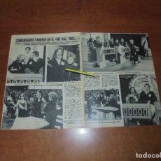 Coleccionismo de Revistas y Periódicos: CLIPPING 1986: UN, DOS, TRES... BOMBI, CHICHO. CORTEZ. SERGIO Y ESTÍBALIZ. BERTÍN. ROCÍO DURCAL. MAR. Lote 180430180