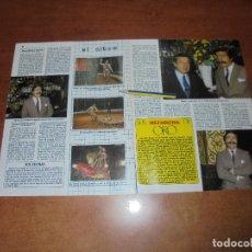 Coleccionismo de Revistas y Periódicos: CLIPPING 1986: MIGUEL DE LA CUADRA SALCEDO, DOMADOR. ÍÑIGO. . Lote 180430362