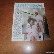 Coleccionismo de Revistas y Periódicos: CLIPPING 1986: QUE PASARÁ EN DINASTÍA. JOAN COLLINS. LINDA EVANS. PAMELA BELLWOOD. JAMES FARENTINO. Lote 180430617