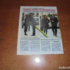 Coleccionismo de Revistas y Periódicos: CLIPPING 1986: CAROLINA ESPERA SU SEGUNDO HIJO. PAOLA DOMINGUÍN EN EL PARIS-DAKAR.. Lote 180430650