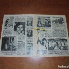 Coleccionismo de Revistas y Periódicos: CLIPPING 1986: ANA BELÉN. DAVID BOWIE CUPLE 36. JOAN BAEZ. DUQUE DE CÁDIZ Y ANA LAURA DE BOURBON. . Lote 180430697
