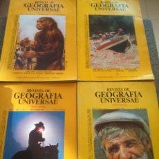 Coleccionismo de Revistas y Periódicos: LOTE -- REVISTA DE GEOGRAFIA UNIVERSAL -- EDICION ESPAÑOLA -- 9 EJEMPLARES -- . Lote 180446762