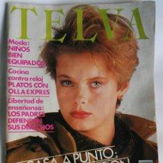 Coleccionismo de Revistas y Periódicos: REVISTA TELVA N° 472 OCTUBRE 1983. Lote 180454286