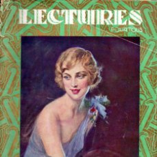 Coleccionismo de Revistas y Periódicos: LECTURES POUR TOUS NOEL 1925 (FRANCES). Lote 180459933