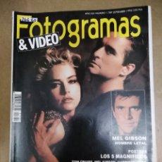 Collectionnisme de Revues et Journaux: 26660 - REVISTA FOTOGRAMAS - PORT MICHAEL DOUGLAS Y SHARON STONE - Nº 1789 - AÑO 1992 - (SIN VIDEO) . Lote 180569626