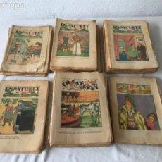 Coleccionismo de Revistas y Periódicos: LOTE DE 98 PATUFET. VER FOTOS ANEXAS Y NÚMEROS. AÑOS XXII, XXIII,XXIV,XXV Y XXVII.. Lote 180602185