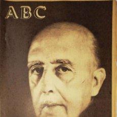 Coleccionismo de Revistas y Periódicos: ABC. FRANCO HA MUERTO. DIARIO ILUSTRADO.. Lote 180849155