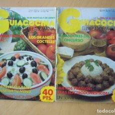 Coleccionismo de Revistas y Periódicos: LOTE 2 REVISTAS GUIACOCINA (AÑOS 80) NOS. 27 Y 38. Lote 180854503