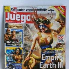 Coleccionismo de Revistas y Periódicos: REVISTA COMPUTER HOY N° 77 EMPIRE EARTH III. Lote 180863636