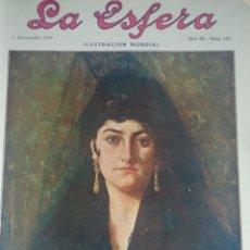 Coleccionismo de Revistas y Periódicos: LA ESFERA 1916 Nº 149 ROMERIA LLODIO -SANTA ISABEL LA REAL GRANADA. Lote 180863783