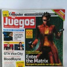 Coleccionismo de Revistas y Periódicos: REVISTA COMPUTER HOY N° 27 ENTER THE MATRIX. Lote 180863826