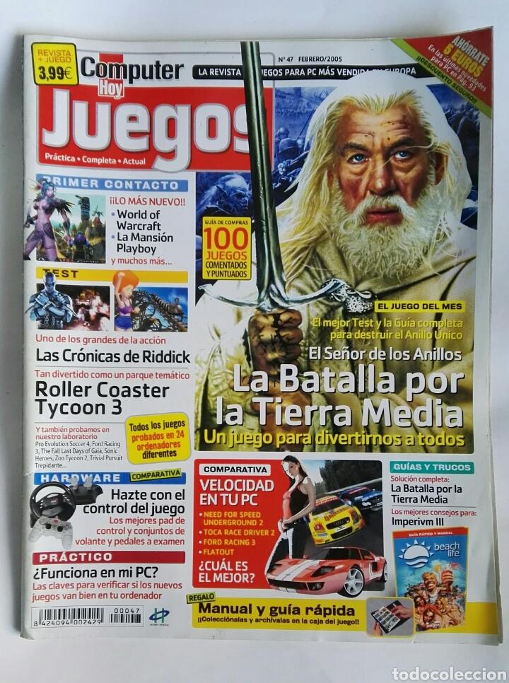 REVISTA COMPUTER HOY N° 47 LA BATALLA POR LA TIERRA MEDIA (Coleccionismo - Revistas y Periódicos Modernos (a partir de 1.940) - Otros)
