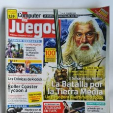 Coleccionismo de Revistas y Periódicos: REVISTA COMPUTER HOY N° 47 LA BATALLA POR LA TIERRA MEDIA. Lote 180864285