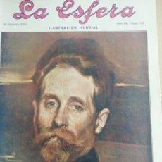 Coleccionismo de Revistas y Periódicos: LA ESFERA 1916 Nº 147 SAN JUAN DE DUERO . Lote 180868201